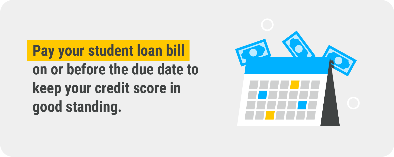 pay your student loan bill